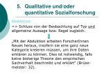 5 qualitative und oder quantitative sozialforschung19