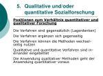 5 qualitative und oder quantitative sozialforschung20