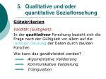 5 qualitative und oder quantitative sozialforschung25