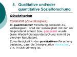 5 qualitative und oder quantitative sozialforschung26