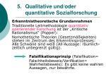 5 qualitative und oder quantitative sozialforschung8