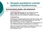6 beispiele quantitativer und oder qualitativer sozialforschung29