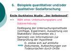 6 beispiele quantitativer und oder qualitativer sozialforschung31