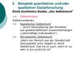 6 beispiele quantitativer und oder qualitativer sozialforschung34