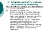 6 beispiele quantitativer und oder qualitativer sozialforschung35