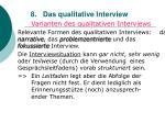 8 das qualitative interview69