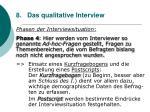 8 das qualitative interview76