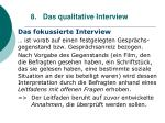8 das qualitative interview78