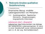 relevante ans tze qualitativer sozialforschung57