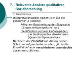 relevante ans tze qualitativer sozialforschung60