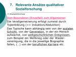 relevante ans tze qualitativer sozialforschung61