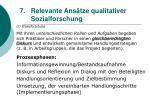relevante ans tze qualitativer sozialforschung64