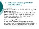 relevante ans tze qualitativer sozialforschung65