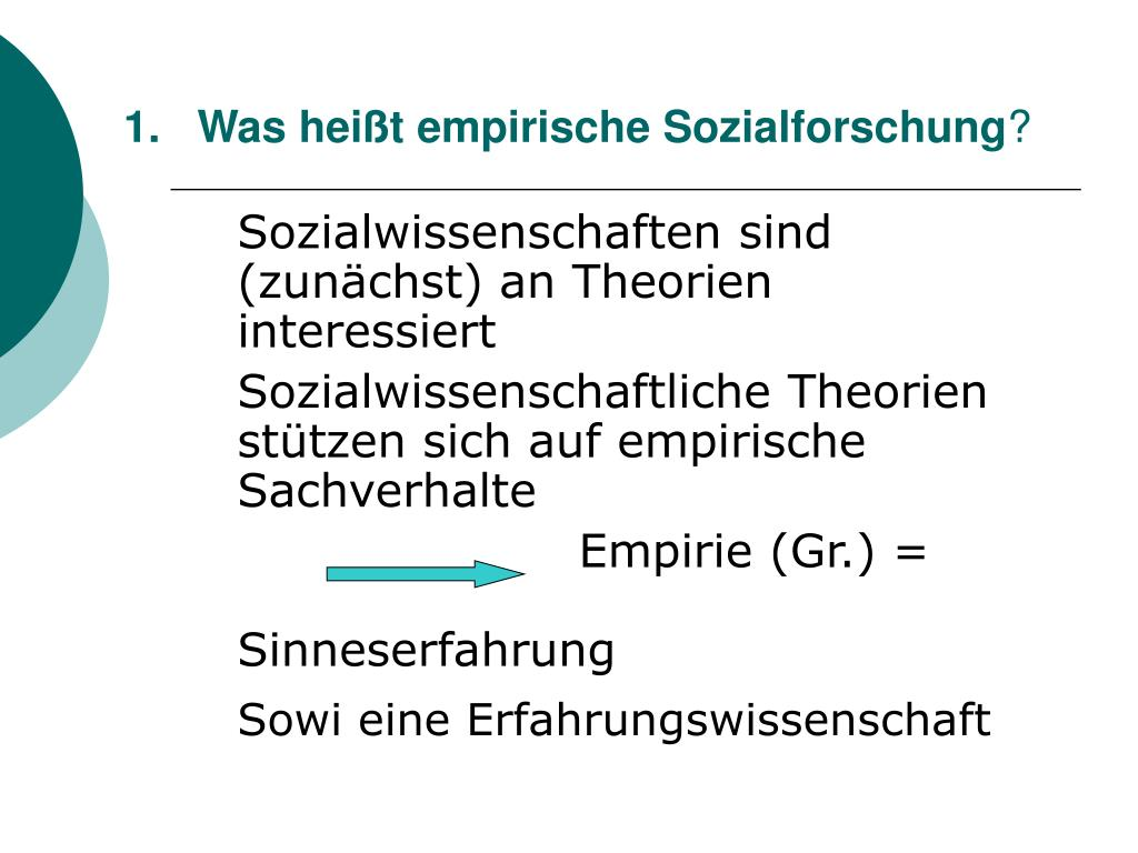 was hei t empirische sozialforschung l.