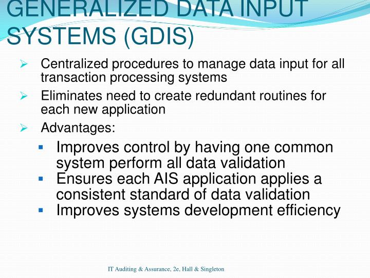 generalized audit software advantages and disadvantages