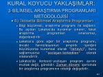 kural koyucu yakla imlar 3 b l msel ara tirma programlari metodoloj s147