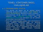 temel y ntemb l msel yakla imlar72