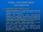 temel y ntemb l msel yakla imlar75