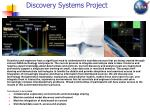discovery systems project