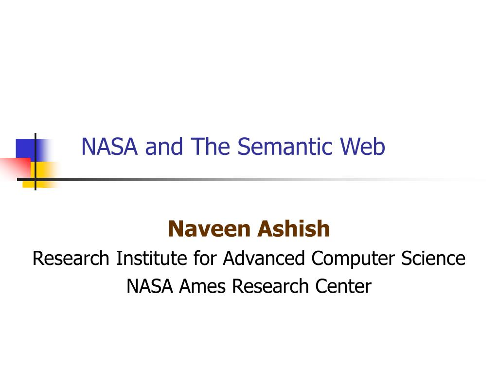 nasa and the semantic web l.