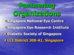 partnering organizations