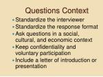 questions context9