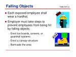 falling objects 1926 501 c