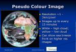pseudo colour image