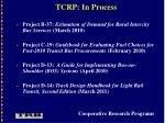 tcrp in process22
