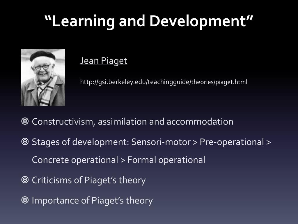learning and development l.