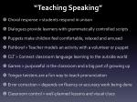 teaching speaking11