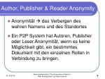 author publisher reader anonymity