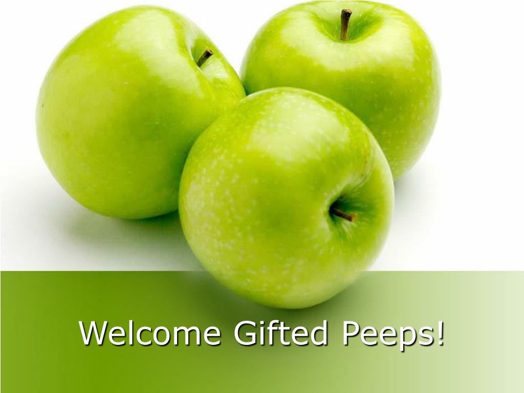 welcome gifted peeps l.