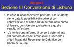allegato 8 sezione iii convenzione di lisbona