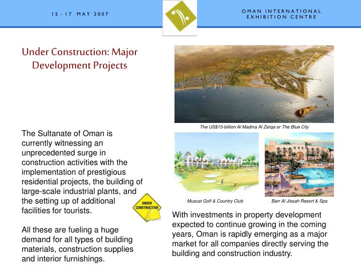 Under Construction: Major Development Projects