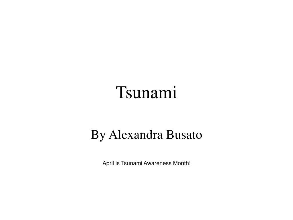 tsunami l.