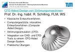 cfd aided design von str mungsmaschinen prof dr ing habil r schilling flm ws