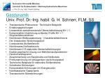 gasdynamik univ prof dr ing habil g h schnerr flm ss