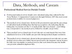 data methods and caveats6