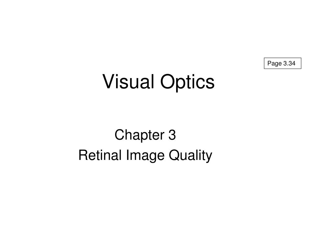 visual optics l.