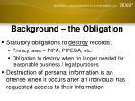 background the obligation4
