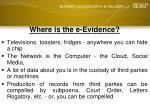 where is the e evidence30