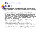 course overview page 4
