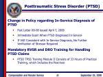 posttraumatic stress disorder ptsd