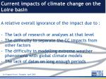 current impacts of climate change on the loire basin14
