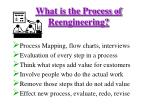 what is the process of reengineering