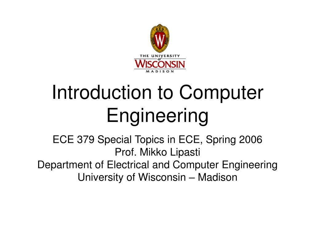introduction to computer engineering l.