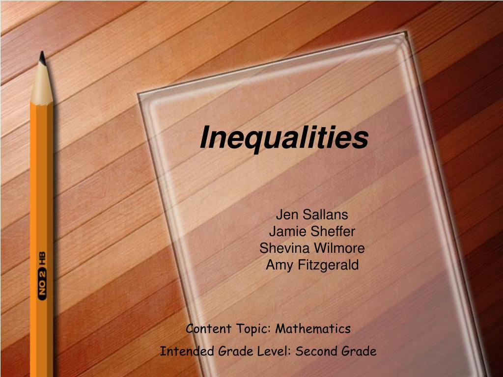 inequalities l.