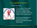 office of vocational rehabilitation31