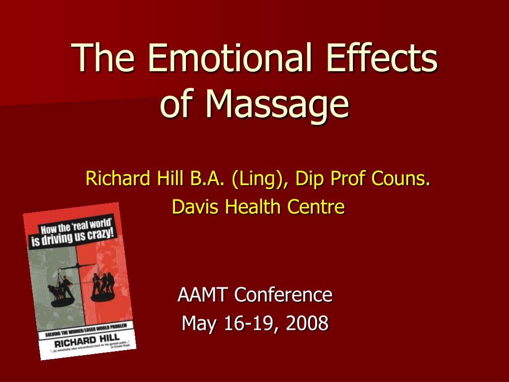 the emotional effects of massage l.